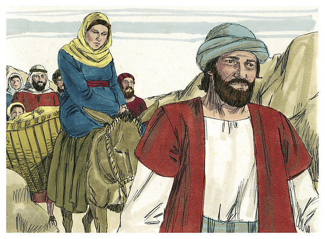 Gospel of Luke Chapter 2-1 (Bible Illustrations by Sweet Media).jpg