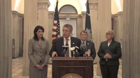 File:Governor Haley announces elimination of Dept. of Corrections projected deficit.webm