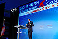 Governor of Texas Rick Perry at Southern Republican Leadership Conference, Oklahoma City, OK May 2015 by Michael Vadon 02.jpg
