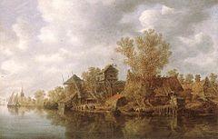 Goyen 1636 Village at the River.jpg