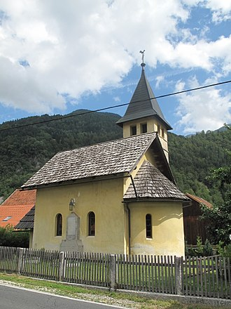 Municipality of Kranjska Gora - Image: Gozd Martuljek, kerk foto 3 2011 07 19 10.54