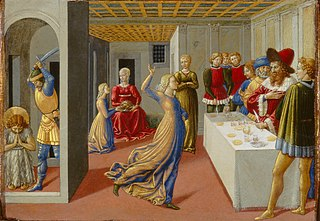 The Feast of Herod and the Beheading of Saint John the Baptist