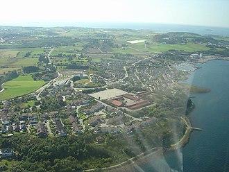 Hetland - View of Grødem village