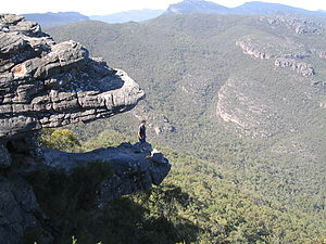Scottish Australians - The Balconies (formerly known as the 'Jaws of Death') - Grampians National Park, Victoria, Australia