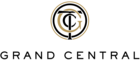"Logo of Grand Central Terminal, with interlocking letters ""G"", ""C"", and ""T"""