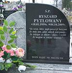 Grave of Ryszard Pytlowany at Dąbrówka Cemetery in Sanok 2.jpg