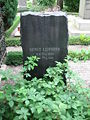 Grave of bengt lidforss swedish professor lund sweden 2008.JPG
