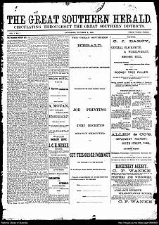 <i>Great Southern Herald</i>