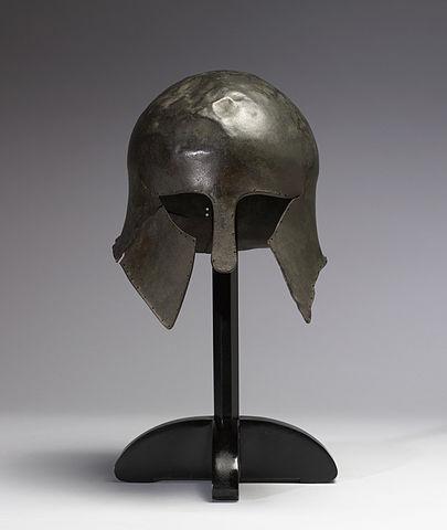 hoplite helmet (8th–6th century BC) - Hoplite Armor