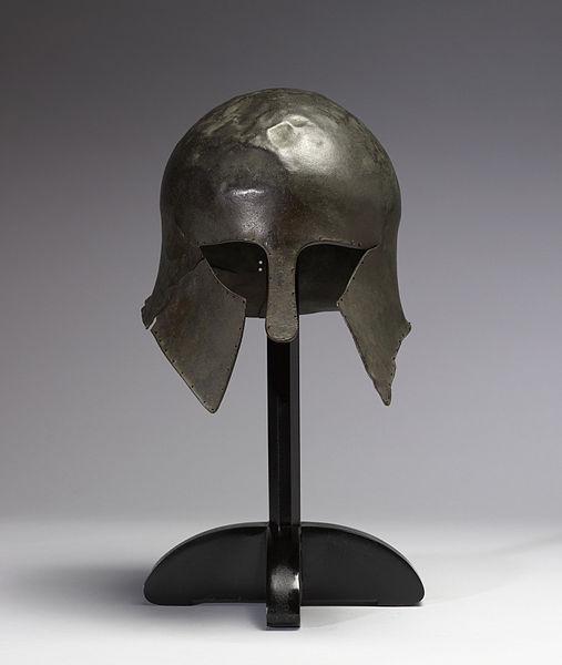 Corinthian Hoplite Helmet (Front)
