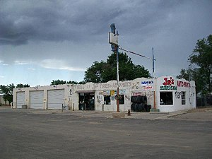 National Register of Historic Places listings in Torrance County, New Mexico - Image: Green Evans Garage