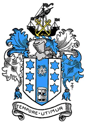 Metropolitan Borough of Greenwich - The Arms of The Metropolitan Borough of Greenwich