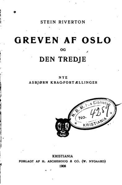 File:Greven af Oslo.djvu