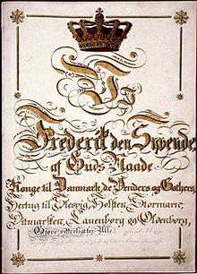 den danske grundlov