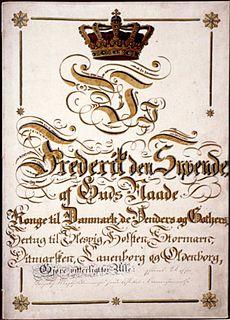 Constitution of Denmark