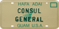 Guam license plate 1986 consular.png