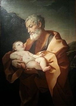 Guido Reni San Giuseppe con il Bambino