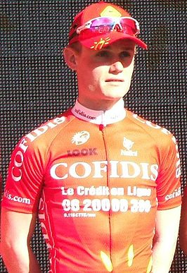 Guillaume Blot tijdens Tour Down Under (2009)