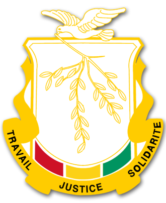 National Assembly (Guinea) - Image: Guinea crest 01
