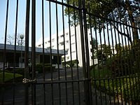 Gun Club Hill Barracks seen through the front gate, ca. 2009.jpg