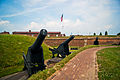 Guns surrounding Fort McHenry.jpg