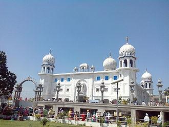 Guru Har Krishan - Image: Gurudwara Panjokhra Sahib, Haryana