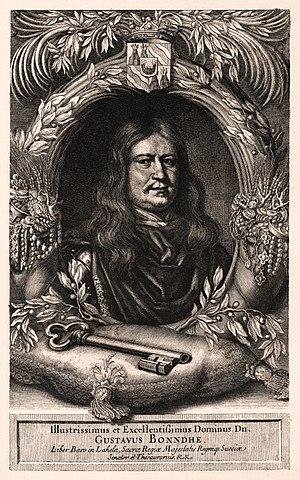 Gustaf Bonde (1620–1667) - Gustaf Bonde on a contemporary engraving