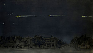 Gustav Hahn - 1913 Great Meteor Procession by Hahn