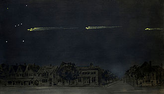 1913 Great Meteor Procession - Image: Gustav Hahn 1913 Great Meteor Procession