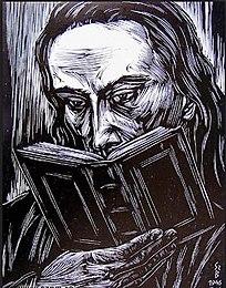 Apáczai Csere János (Gy. Szabó Béla fametszete, 1946)