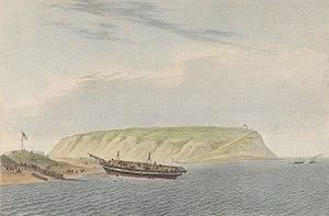 HMS Zebra (1815) - Image: H.M.Brig Zebra Clearing Out 4th December 1840 RMG PY0791 (cropped)