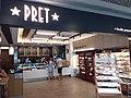 HK 中環 Central 國際金融中心商場 IFC mall food shop Pret A Manger morning August 2019 SSG 01.jpg