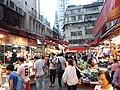 HK 灣仔 Wan Chai 寶靈頓道 Bowrington Road fresh vegetable n seafood wet outdoor old market August 2019 SSG 06.jpg