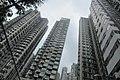HK Mid-levels 鴨巴甸街 Aberdeen Street residential building facades September 2019 IX2 03.jpg