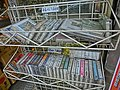 HK Yau Ma Tei Shanghai Street 上海街 shop Cassettes display on sale Feb-2014.JPG