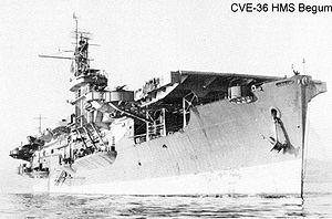 HMS Begum (D38) - HMS Begum
