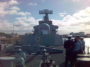 HMS Bristol (D23) - On board HMS Bristol, 2005