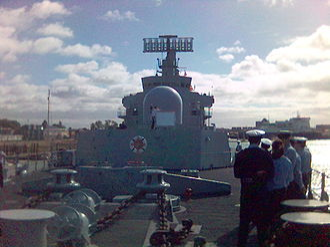HMS Bristol (D23) - On board HMS Bristol, 2005