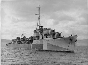 HMS Obedient FL9570