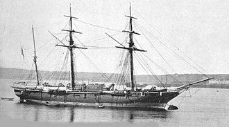 HMS Rosario (1860) - Image: HMS Peterel (1860)