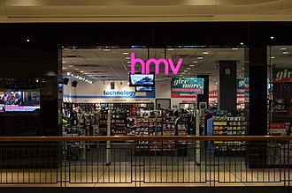 HMV Canada - The Fairview Mall store