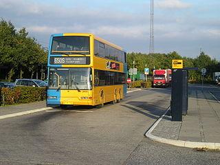 hurtigbussen 555 køreplan
