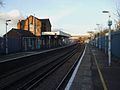 Hackbridge station look north.JPG