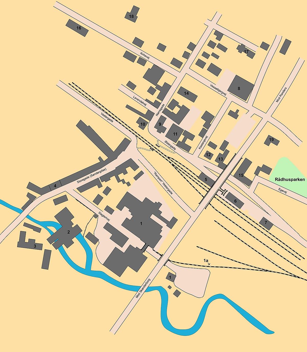 File Hadsten Centrum Kort Jpg Wikimedia Commons