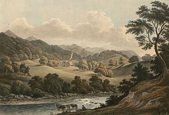 Hafod Uchtryd - Image: Hafod House (1131119)
