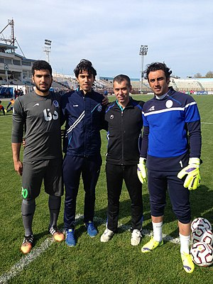 Babazadeh as the Goalkeeper coach at Esteghlal FC