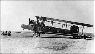 Third Anglo-Afghan War - A Royal Air Force Handley Page Type O