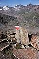 Hangerer - trail mark on stone.jpg