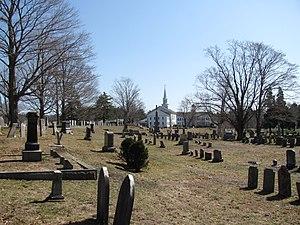 Hanover Center Historic District - Hanover Center Cemetery
