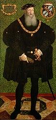 Pfalzgraf Friedrich II. (1482-1556), in ganzer Figur